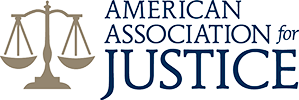Logo Recognizing Fletcher Law Office, LLC's affiliation with American Association of Justice